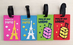 Free Shipping/New cute 3D cartoon travel luggage tag /name tag-in ...