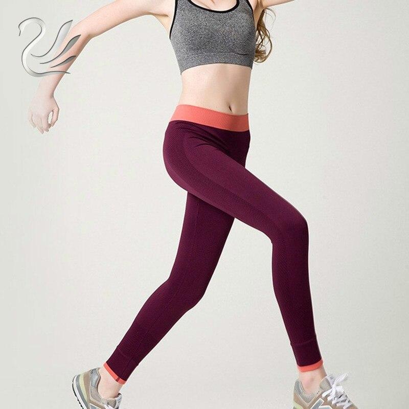 2019 Spring-Autumn Women's Leggings Fitness High Waist Stretch Breathable Slimming Elasticity Women Leggings Workout Pants