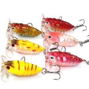 "Image 3 - חם! 6 יחידות גבוהה באיכות חרקים פיתיון דבורה דיג פיתוי קרפיון קרס דיג מים מתוקים בריכת מאגר דיג Wobblers 40 מ""מ 4.2 גרם"