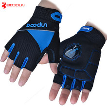 New Arrival Shockproof Cycling font b Gloves b font Half Finger guantes ciclismo Washable Bicycle Bike