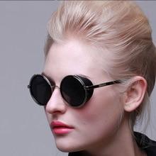 Goggles Vintage Retro Blinder Steampunk Sunglasses 50s Round