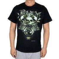 Free Shipping Trivium Heavy Metal Band Rock Music 100 Cotton Black T Shirt Size S M