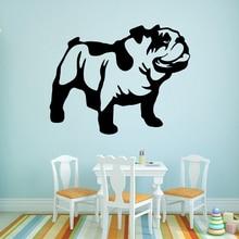 Cute Pet Dog Vinyl Wall Sticker Art Wallpaper Decor For Kids Room Bedroom Wall Art Decal Stickers Murals muursticker цена