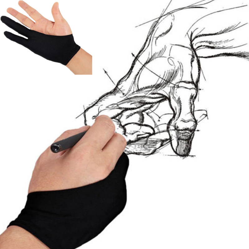 Professional Free Size Artist Drawing Glove for Huion Graphic