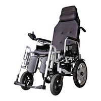 BZ 6403 Nice Performance Folding High Backrest Power Wheelchair With Electric Footrest