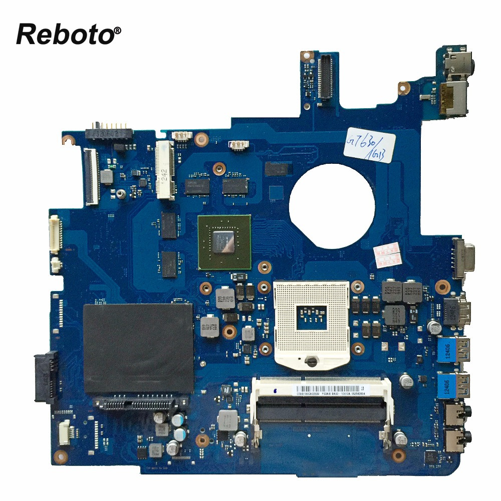 Reboto FOR Samsung NP550P5C Laptop Motherboard Mainboard BA92 10612A BA41 01900A GT630M 1GB HM76 support i7