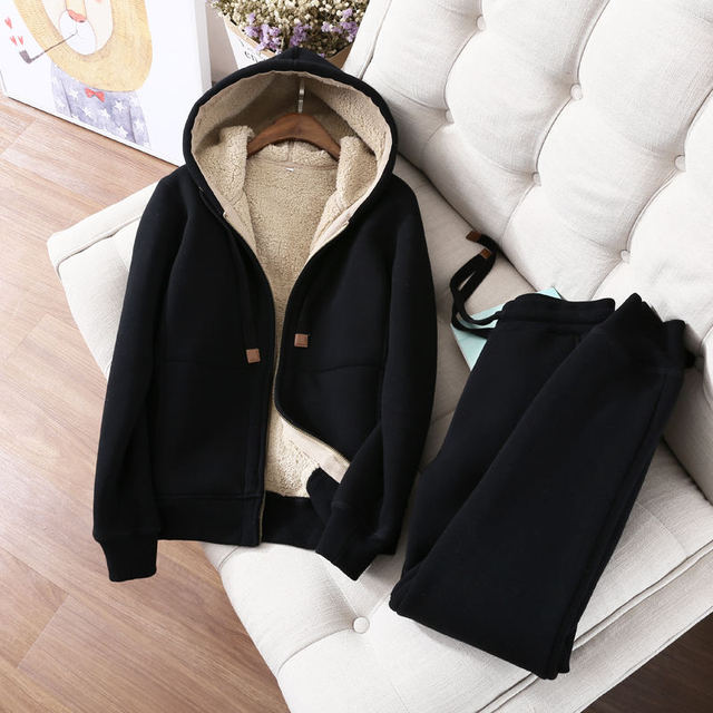 Autumn Winter  Two Hoodies Jacket 1