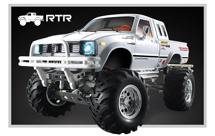Cross Country 4x4 >> Us 399 99 Cross Country 4x4 1 10 Rc Cralwer Truck Compatible Tamiya Hulix High Lift 1 10 Rc Toyota 58397 Rcw4d Tf2 Axial Scx10 In Parts