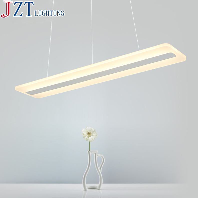 M Led Acrylic Office Chandeliers Restaurant Modern Dining Room Lights Office Building Chandeliers Living Room Study Lamp