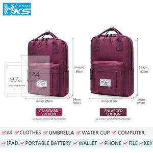 Image 5 - Neue 2020 Wasserdichte Rucksäcke für Schüler Rucksack Schule Taschen für Teenager Mädchen FemaleLaptop Bagpack Reisetasche Schulter Tasche