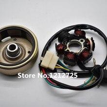 Двухтактный scooter DIO 50 обмотка статора Магнето ротор Подходит для Honda DIO50 DIO 17/18/24/27/28 AT55