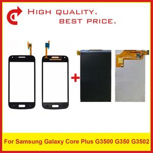 "Image 1 - 4,3 ""Für Samsung Galaxy Core Plus G3500 G350 G3502 LCD Display Mit Touch Screen Digitizer Sensor Panel Pantalla Monitor"