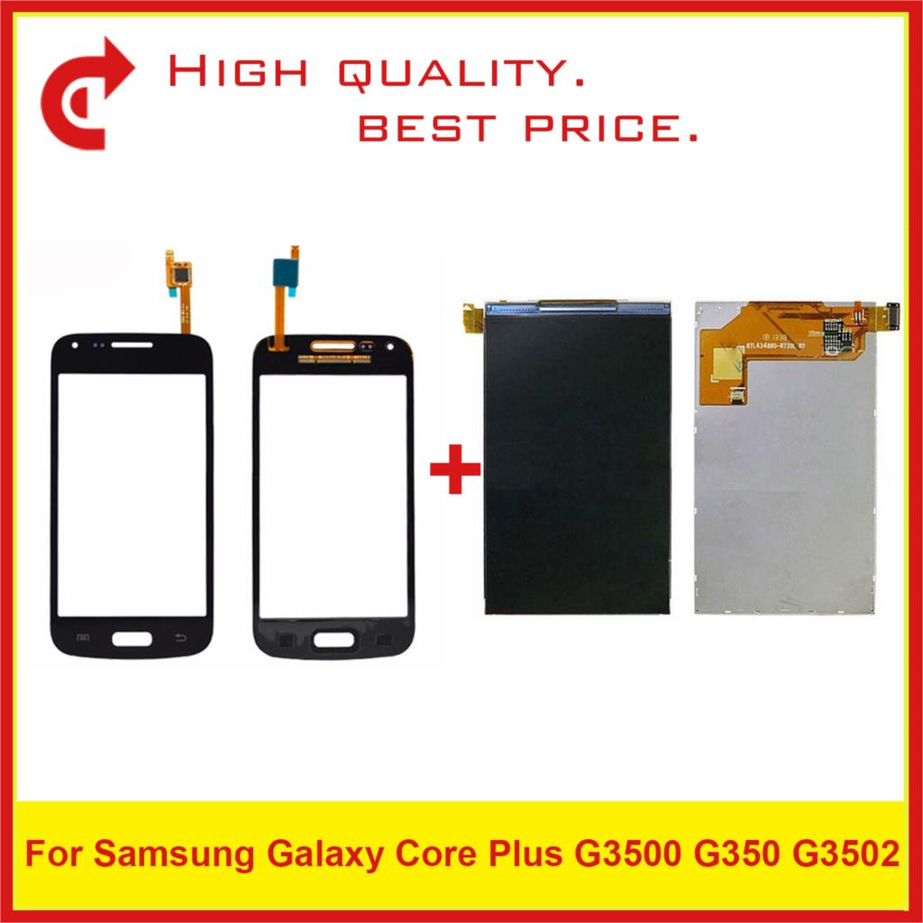 "4.3"" For Samsung Galaxy Core Plus G3500 G350 G3502 LCD Display With Touch Screen Digitizer Sensor Panel Pantalla Monitor-in Mobile Phone LCD Screens from Cellphones & Telecommunications"