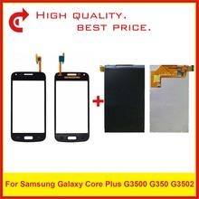 """4.3 """"עבור Samsung Galaxy Core פלוס G3500 G350 G3502 LCD תצוגה עם מסך מגע Digitizer חיישן פנל Pantalla צג"""
