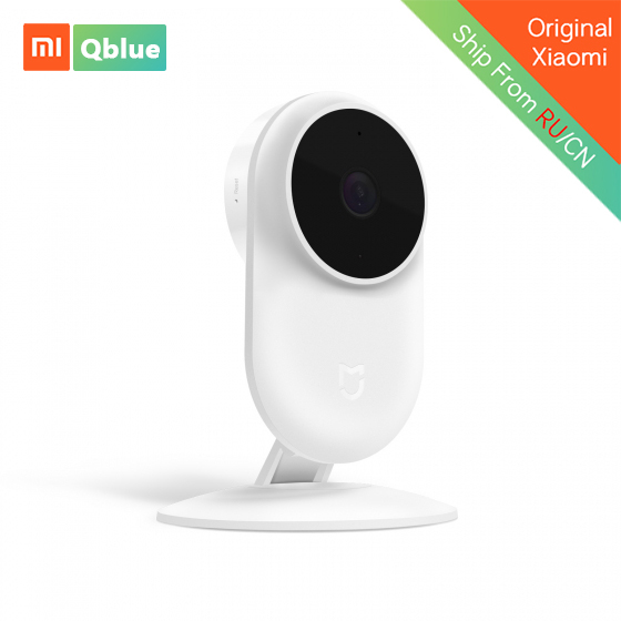 Xiaomi Mijia Smart IP Cam New Version 1080P 130 Wide Angle AI Humanoid Intelligence Detection Night Vision Mijia Smart Camera 2018 original xiaomi mijia smart ip camera 1080p 2 4g wifi wireless 130 wide angle 10m night vision hierarchical detection