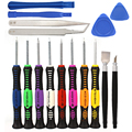 16 in 1 set Opening Pry Repair Tool Kit cellphone Screwdrivers Set Kit hand phone repair tool For Samsung LG SONY HTC IPhone