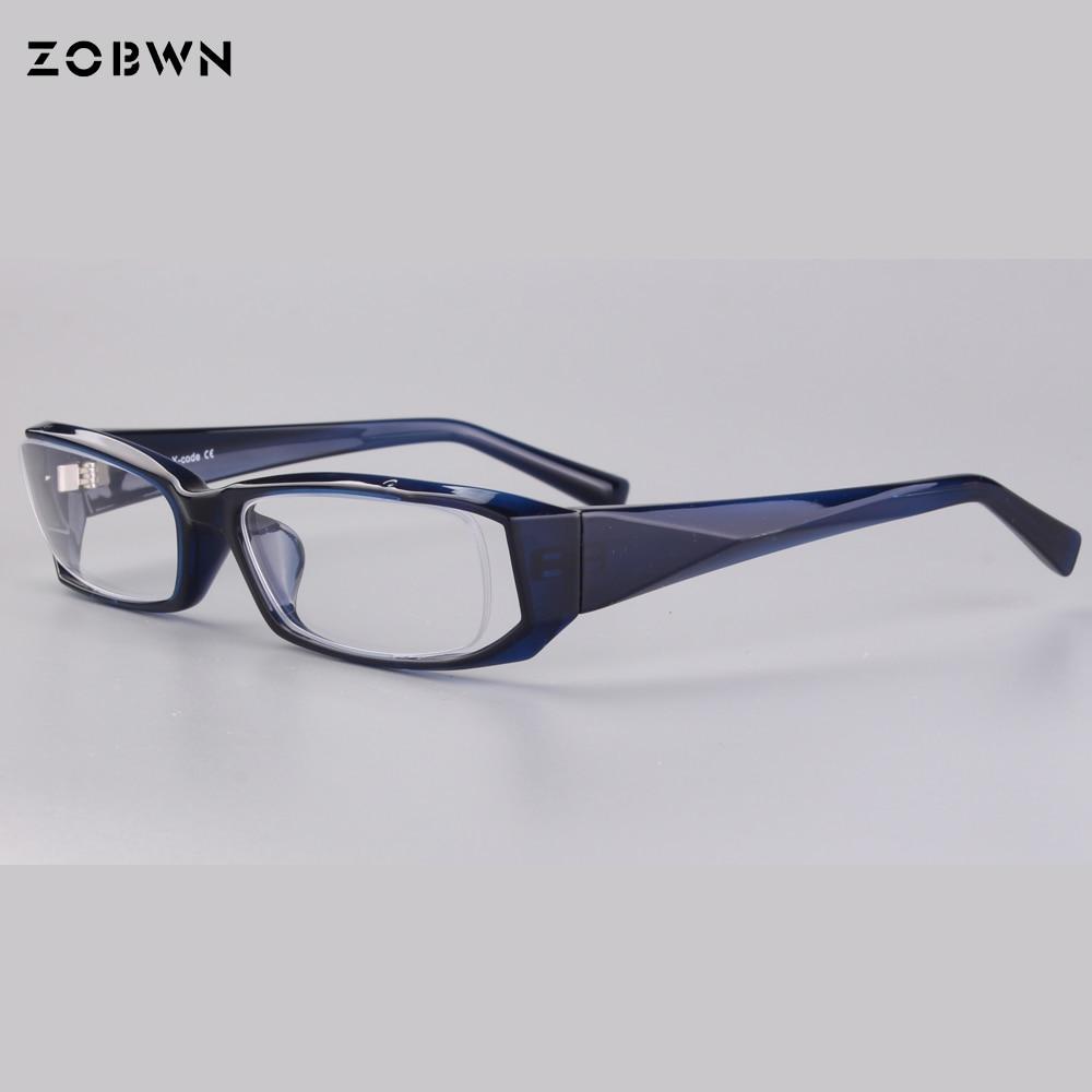75eafe119a6 Classic sport Glasses Frame Retro half Rim Eyeglass Frame Vintage  Spectacles Unisex NO Degrees can put myopia reading lens marca