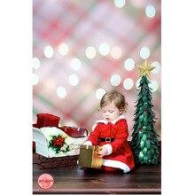 2016 expédition Rapide 5x7ft large Santa De Noël maison vinyle fond vintage toile De fond de Noël personnalisé taille est offert P0951