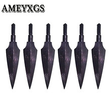 12Pcs Archery Arrowheads Traditional Broadheads 150 Grian Screw in Arrow Head For Bow Arrow Outdoor Hunting Shooting Accessories