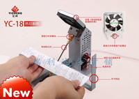 YC 18 eagerly cut lace ribbon cutting scissors with electromechanical thermal cutting machine