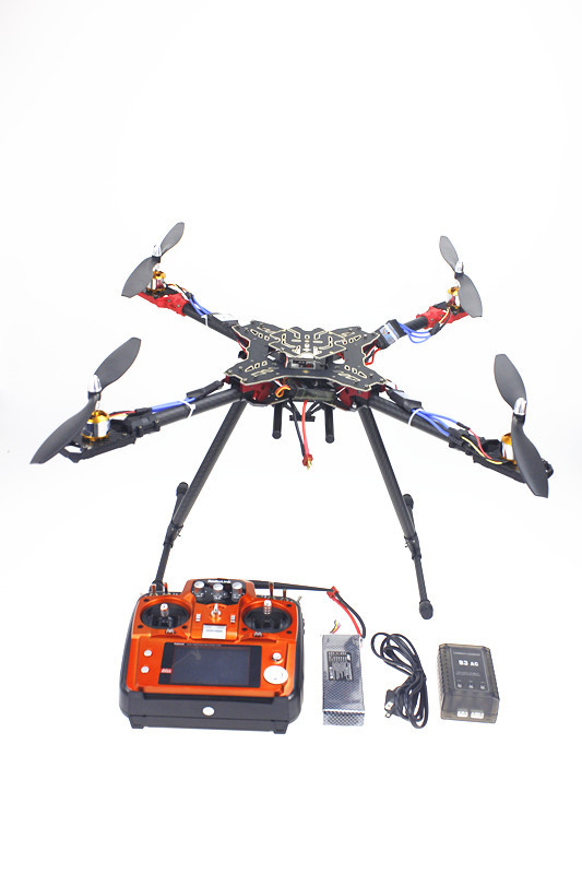 F11066-B Foldable Rack RC Quadcopter Full RTF with AT10 Transmitter QQ Flight Control Motor ESC Propeller Battery Charger 6axle foldable rack rc helicopter kit apm2 8 flight control board gps 1000kv motor 10x4 7 propeller 30a esc at10 tx f02015 j