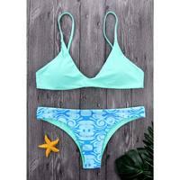 M M Blue Micro Bikini Women Swimsuit 2018 Thong Bottom Swimwear Female Summer Beachwear Brazilian Bikini