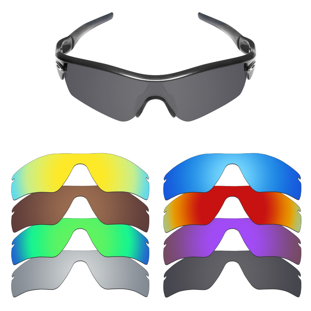632a2343c1a Mryok Polarized Replacement Lenses for Oakley Radar Path Sunglasses Lenses(Lens  Only) - Multiple