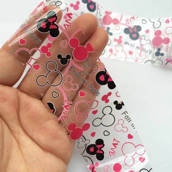 1 Roll Folie Nail Art Sticker Verliefd Mickey Mouse Stok Op Nagels