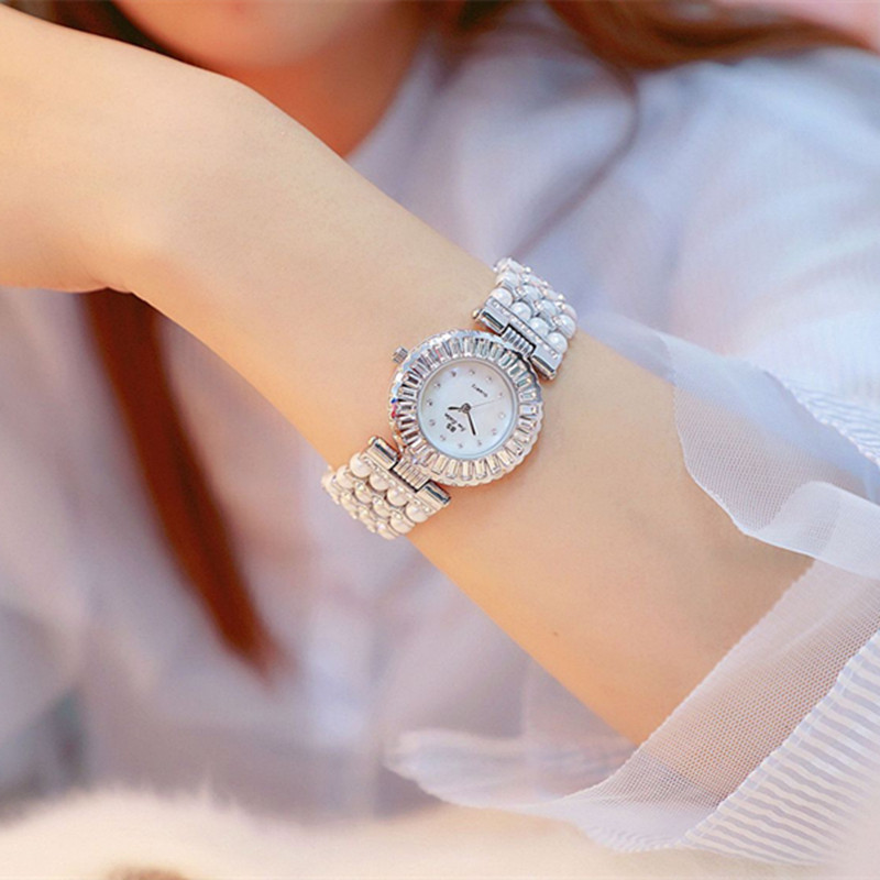 Luxury Pearl Band Casual Woman Watches Fashion ladies Watch Women 2018 Rhinestone Quartz watches Women Bracelet reloj mujer Luxury Pearl Band Casual Woman Watches Fashion ladies Watch Women 2018 Rhinestone Quartz watches Women Bracelet reloj mujer