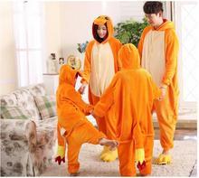 Anime Pajamas  Charmander  Unisex Adult Kid Animal Onesies Cosplay Costume Pajamas Hot Sale unisex Adult Onesie