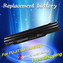 JIGU batterie d'ordinateur portable CP567717-01 FMVNBP213 FPCBP331 FPCBP347AP Pour Fujitsu LifeBook A532 AH532 AH532/GFX