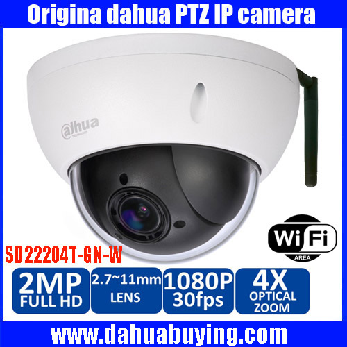 Original Dahua english DH SD22204T GN W Onvif 2 0 Megapixel IR Pan Tilt Dome Outdoor