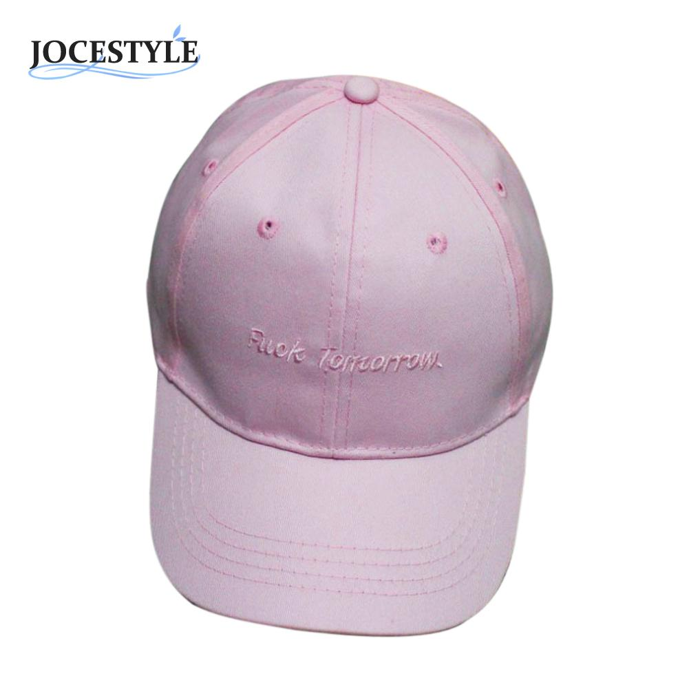6befcc89818 New Fashion 3Color Men Women Peaked HipHop Cap Peaked Adjustable Snapback  Stitchwork Letter Casual Baseball Hat For Autumn