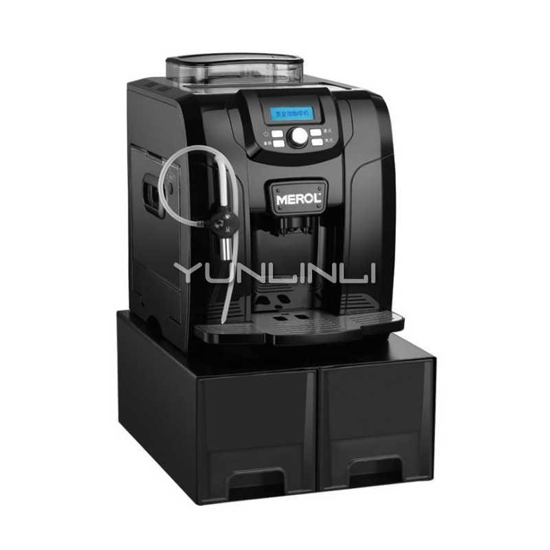 Yunlinli الايطالية ماكينة قهوة أوتوماتيكية ارتفاع ضغط 19 بار مضخة القهوة طاحونة التجارية ماكينة صنع قهوة اسبريسو Me 815 آلة إعداد القهوة Aliexpress