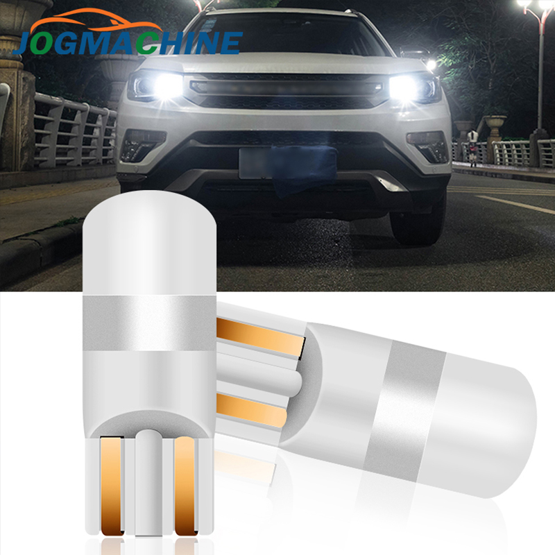 1/2PCS T10 W5W LED Car Clearance Lights Reading Lamp 3030 SMD Auto Interior Vehicle Dome Door Bulb Accessories Trunk Light 6000K