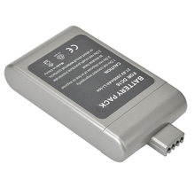 ETC-2X21.6V 2000mAh High Capacity Li-ion Rechargeable Battery Pack for D-yson DC16,12097,912433-01,912433-03,912433-04,BP01 Gray