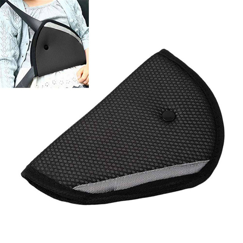 1PC Triangle Car Safety Belt Adjust For Children Baby Kids Oxford Fabric Car Safety Cover Strap Accessories Safety Belt Pad Safe