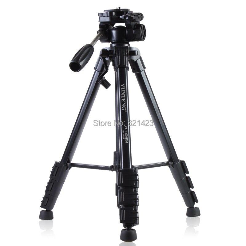 VCT-690 Nuevo equipo fotográfico Yunteng Aluminio trípode flexible - Cámara y foto - foto 6