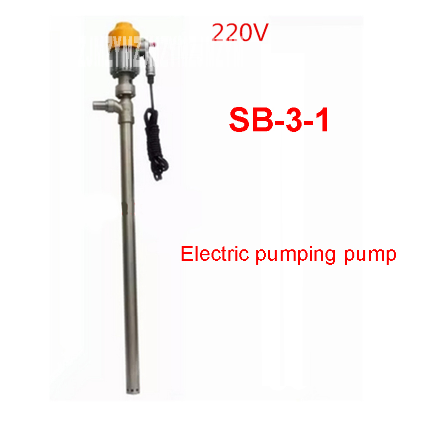 SB-3-1 only pump without hose explosion-proof Fuel Pump Oil Pump Water Pump 220V/50 Hz 880W Explosion protection 50/25MM Caliber
