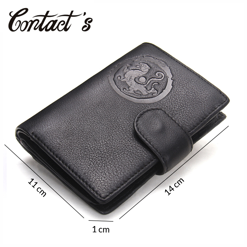 Mens Genuine Leather Travel Passport Wallet Cover Case Coins Document /& Card Holder