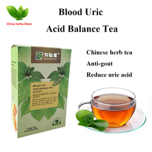 1 box Blood Uric Acid Balance lower uric acid treatment gout remedios natural acido urico