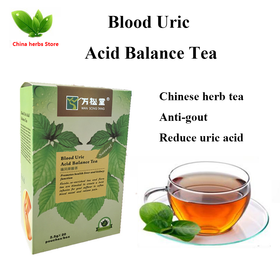 1 box Blood Uric Acid Balance lower uric acid treatment gout remedios natural acido urico 1 box blood uric acid balance tea lower uric acid treatment gout remedios natural acido urico