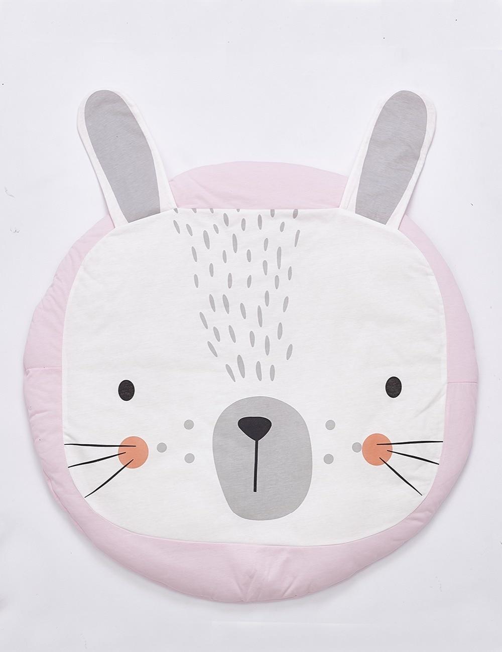 Rosy Bunny Rabbit Play Mat