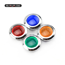 TURN SIGNAL HIGH BEAM PILOT LIGHT LENS COVER For YAMAHA XJR 1200SP 1300SP 300 400 400R Motorcycle XJR1300 XJR1200 XJR400 for yamaha xjr 400r 1200 1300 xjr400r xjr1300 xjr1200 tdm 900 motorcycle pedal gear shift cloth sock cover boot shoe protector