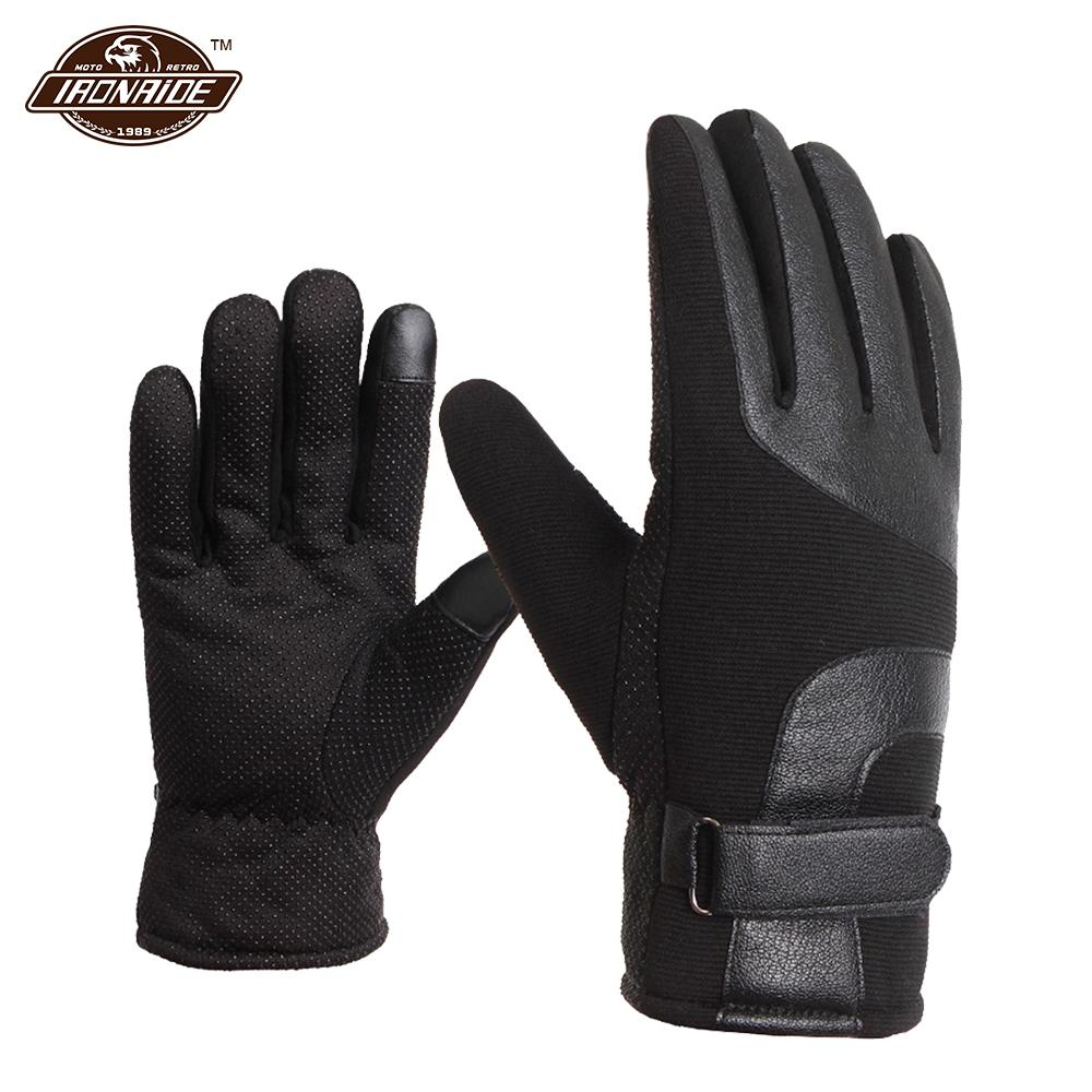 Warm Guantes Motorrad Handschuhe Wasserdicht winddicht Winter Moto Luvas Touchscreen Motosiklet Eldiveni Schutz Moto Handschuhe