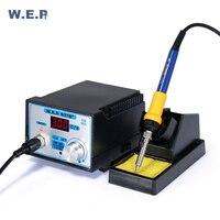 WEP 937D + Вт 75 Вт Цельсия/светодио дный Фаренгейт температура светодиодный цифровой антистатический SMD SMT паяльная станция