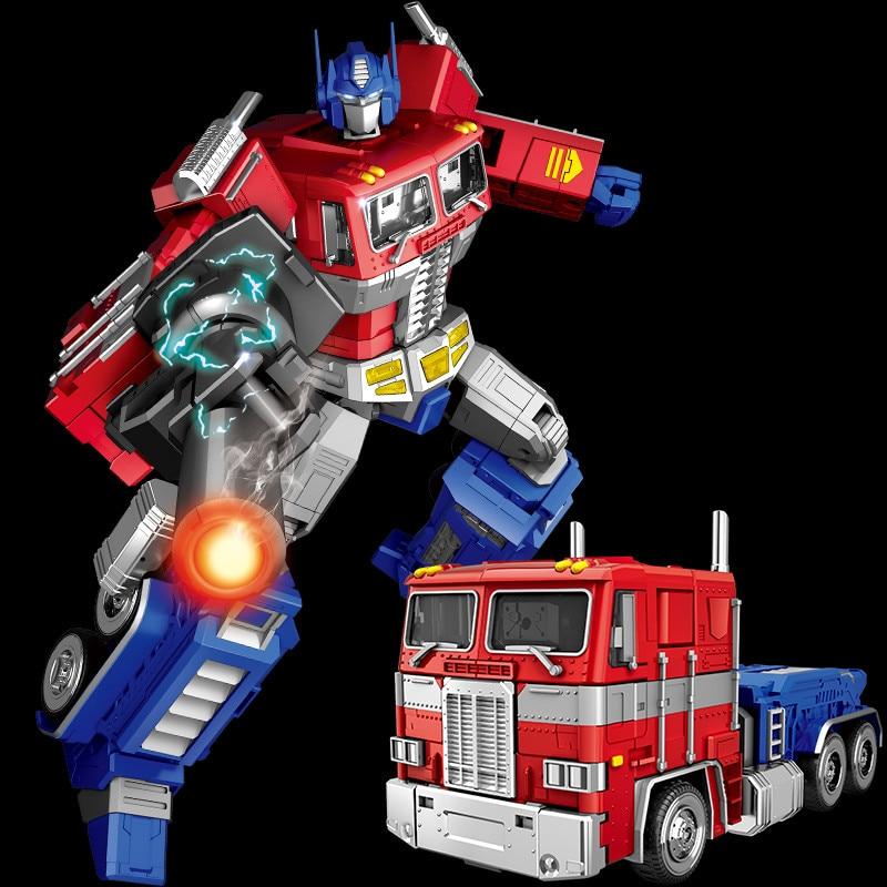 Yuexing 32CM MMP10 Transformation 5 film jouets garçons Cool Robot voiture métal alliage MPP10 surdimensionné Action Figure enfants plus âgés adulte jouet-in Jeux d'action et figurines from Jeux et loisirs    1