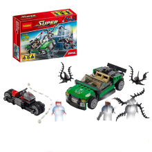 2019 Marvel Super Heros Set 578pcs Spiderman Mech Venom Mecha Building Blocks Compatible Legoingly 76115