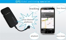easy install car gps tracker security alarm system /alarm security system with door open alarm and App ,web tracking