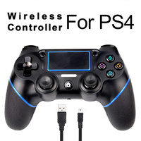Zorx Bluetooth Wireless Gamepad Pro Controller For Sony PS4 Game Controller Joystick Gamepads For PlayStation 4 Slim Pro Console
